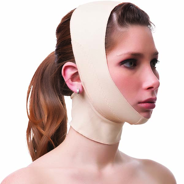 CLG100 - Chin Strap Support Compression Garment W/ Medium Neck Support