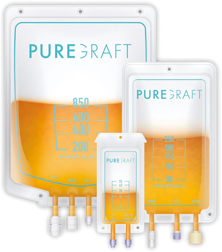 Puregraft filtration bags